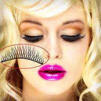 10 Pairs Makeup Handmade Natural Fashion Long False Eyelash Cross Eye lashes