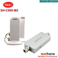 Free shipping Sunhans CDMA 850MHz phone signal amplifier 3G/4G repetidor