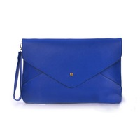 Original Women Evening Handbag Lady Envelope Clutch Shoulder Bag Purse Blue for CE certification