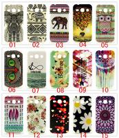 50pcs Beautiful Owl Elephant Bird flowers Pattern TPU Back Cover Case for Samsung Galaxy Core Plus G3502 G3500 G3508 22 Styles