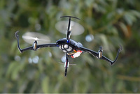 Free Shipping CG023 Mini 6-Axis Gyro RC Helicopter With LED Light Headless Mode RTF 2.4GHz 4Ch Quadcopter