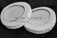 White Ear pads earpads cushion replacement parts for Pioneer HDJ500 HDJ 500 DJ HEADPHONES