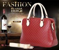 2015 women messenger bag Genuine patent leather handbag Brand crossbody Bag Luxury Tote women travel bags W025