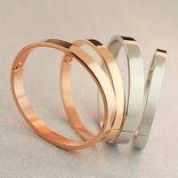 925 silver 18K gold plating Finest LOVE Bracelet Yellow Gold Rose Gold & Silver Free Shipping