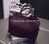 2015 European and American Women's Leather bags Brand Designer Handbag High Quality Ladies Big  Messenger Bag Free 0329A