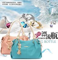 2015 New Design!!Fashion women's handbag vintage belt bear tassel women shoulder bag messenger bags casual bag tote W023