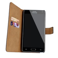 With Leather Flip Note IV SM N910F MTK6592 Octa Core MTK6582 Quad Core Case for 2GB Ram White Black Gold phone Cover for note4