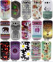 Free Shipping Elephant Anchor Owl Soft TPU Gel Skin Case For Samsung Galaxy Grand NEO i9060 100pcs/lot