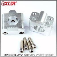 "CNC Aluminum 11/8"" to 7/8"" 22mm to 28mm handlebar Clamps FOR Dirt Pit bike Modify 28mm HANDLEBAR"