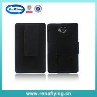 first-class quality factory price cell phone housing for Nokia  503 with belt clip and stand holder