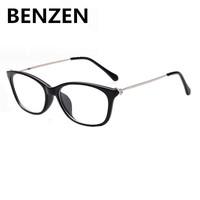 2015 Computer Goggles Fashion Women Plain Glasses Optical Glass Frames  Clear Lens Rhinestone Radiation-resistant Glass 5024