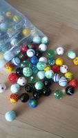 Hot!Crafts Colored glass balls 2cm ball glass aquarium vase fish tank decorative marbles checkers child Ball10 pieces/pack