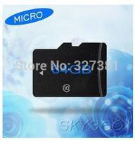 2015hot  samsung Memory card 64gb New 64 GB Micro sd card class 10 Pen drive Flash TF CARD+SD adapter