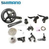 2014 SHIMANO Ultegra 6800 Road Bike Groupset 53/39T 11-speed 170mm Black