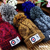 HT-1490 retail children winter hat  boys and girls winter beanies kids knitted winter  hats