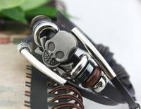 Hot Sale Fashionable and Vintage Leather Beaded Bracelets