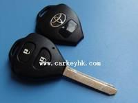 Direct Factory&Novel Item Toyota Camry 2 buttons remote key shell toy47 for toyota prado key cover