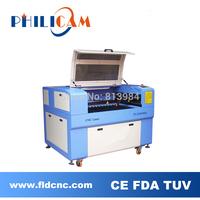 Philicam 10% discount 60w/80w CO2 laser machine 6090/co2 laser cutting machine