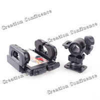 360 degree  Rotating Bicycle Phone Holder - Black