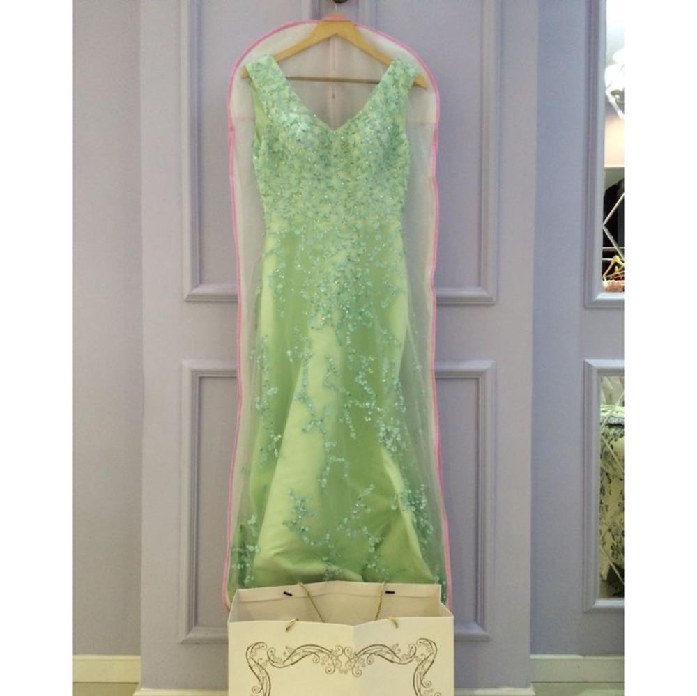 Wedding bag vestito garmet