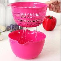 X180 kitchen vegetables basin drain basket bunk dripping sieve vegetables vegetable basket fruit basket 10P