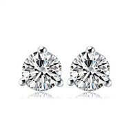 new design cheap jewelry 18k white gold plated stud earrings for women fashion statement jewelry for girl women