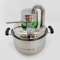 DIY Moonshine Ethanol Stainless Distiller 10L Spirits (alcohol) Distillation Boiler Home Winemaking Brewing Equipment