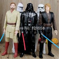 "Star Wars Rebels Stormtrooper Darth Vader Anakin Skywalker Obi-Wan Kenobi 12"" Action Figure Nice Gift for Kids"