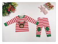 z03455 newest cotton baby boy pajamas baby cartoon pajamas kids sleepwear children costumes