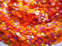 Solvent Resistant Glitter Mix Nail Polish Glitter Blend for Nail Polish Frankening G255