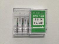 60 Pcs/set Diamond Dental Burs Lab Burrs Tooth Drill TR-62C