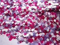 2mm solvent resistant Hex Glitter G251