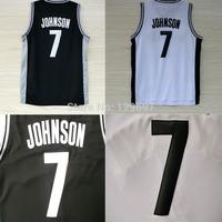 Brooklyn 7 Joe Johnson Basketball Jerseys, Cheap Brand New REV 30 Embroidery Logos Joe Johnson, Free Shipping