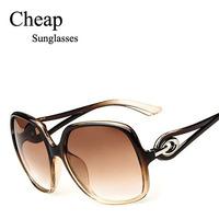Wholesale Fashion 2015 Brand Cheap Sunglasses New Style Women Ladys Leisure Sunglasses Free shipping