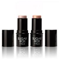 Sugar box Highlighter stick All Over Shimmer Highlighting Powder Creamy Texture Water-proof Silver Shimmer Light