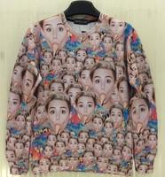 [Magic] Women's new 3d sweatshirt lady eating Cones whole clothing print sweatshirts women casual hoodie sweatshirt free ship