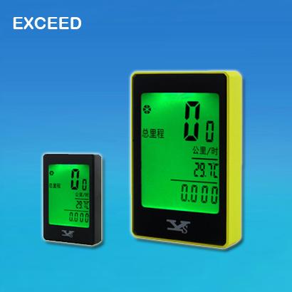 Digital LCD bicycle speedometer clock Wireless Multifunction English Bicycle Computer Odometer Waterproof Bike Speedometer(China (Mainland))