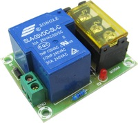 Normally open Normally close 30A High Current Relay Output  Module DC 5V powered