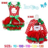 Z03457 New fashion sleeveless Baby Girl Dress Kids Christmas Dress Polka dots Baby Clothing