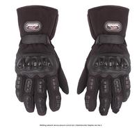 100% Waterproof Guantes Luvas Motorcycle Gloves Winter Warm Waterproof Windproof Protective Gloves