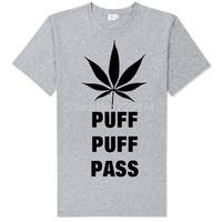 bob marley puff puff pass vintage fashion good quality tee shirt