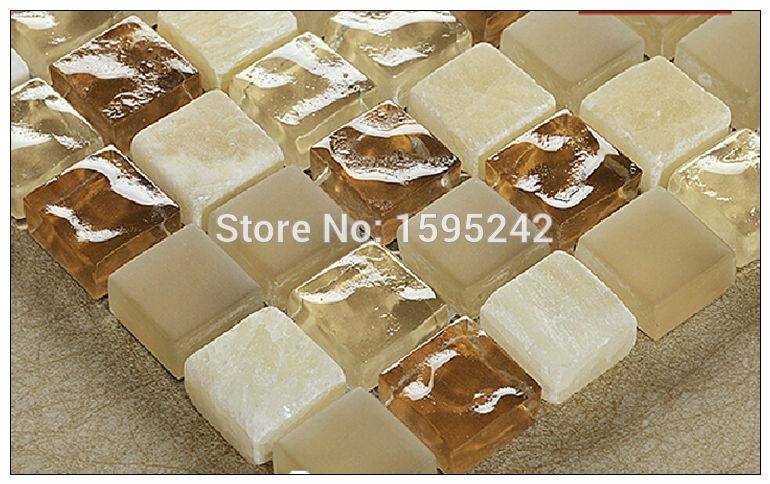 Highquality mármore Natural de cristal pedra mosaico de vidro resina banheiro banheiro telha cerâmica parede definição de padrões carve marcenaria(China (Mainland))