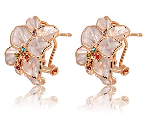 Серьги-клипсы Chinese Jewelry Company HUALUO , RE17