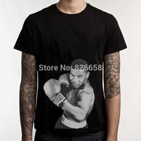 Cool Mike Tyson Shirt Men Custom Cotton T Shirt Famous World Boxing Athlete Iron Mike Tyson t-shirt
