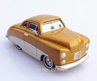 Free shipping genuine original pixar Cars 2 alloy die toy model car golden vintage cars toys for children gift