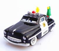 Free shipping genuine original pixar Cars 2 alloy die toy model car holiday spirit sheriff  toys for children gift
