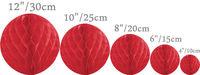 12'' 30CM Free shipping 10pcs Tissue Paper Flower ball/ Honeycomb Lantern Wedding Party festival decoration