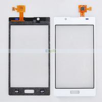 Touch Screen Digitizer with Flex Cable for LG Optimus L7 P700 P705 White/Black 50pcs/Lot