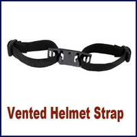 Direct Marketing Gopro Cameras Head Vented Helmet Strap Mount Adapter for Gopro HD Hero 4/2/3 Sport Camera Outdoor Cycling Video