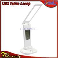 Rechargeable LED Calendar Eye Protection Table Lamp Foldable Style Fashion Led Desk Light White,Warm white,Natural